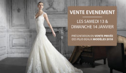 Vente evenement Declaration Mariage - Collections robes de mariee 2018