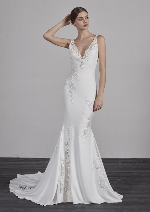 Robe de mariée Pronovias modèle Enya - Dé