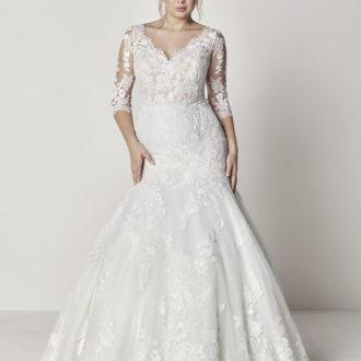 Robe de mariée Pronovias modèle Evelyn