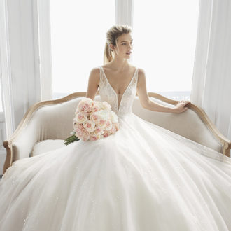 Robe de mariée Rosa Clara modèle Estelar