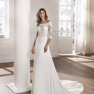 Robe de mariée Rosa Clara modèle Vanil