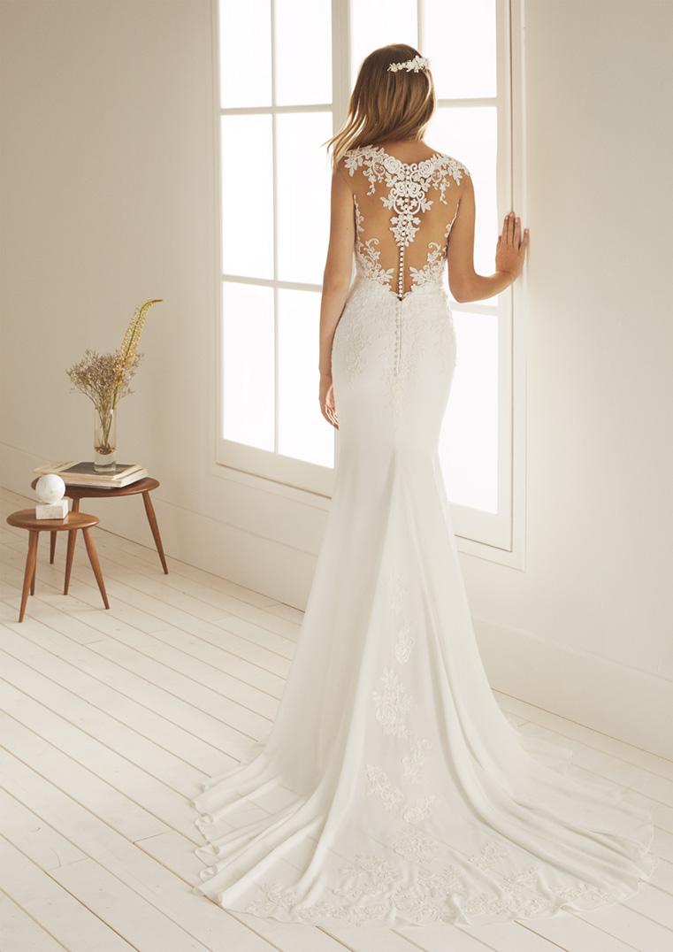 Quantité limitée 2019 meilleurs dernières tendances de 2019 Robe de mariée White One modèle Ocala - Déclaration Mariage