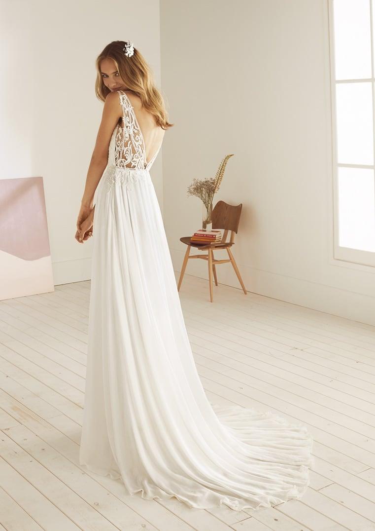 grande variété de styles revendeur prix incroyable Robe de mariée White One modèle Opium - Déclaration Mariage