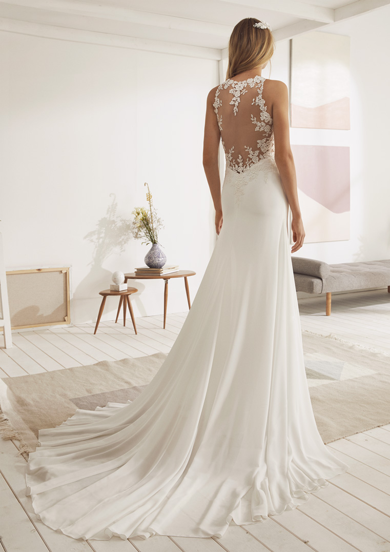 Robe de mariée White One modèle Organ - Dé