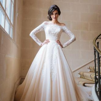 Robe de mariée Paul & Nathalie modèle S1907