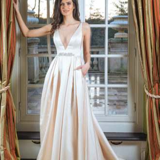 Robe de mariée Paul & Nathalie modèle S1921