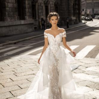 Robe de mariée Tarik Ediz modèle 50411