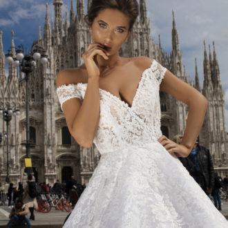 Robe de mariée Tarik Ediz modèle 93650