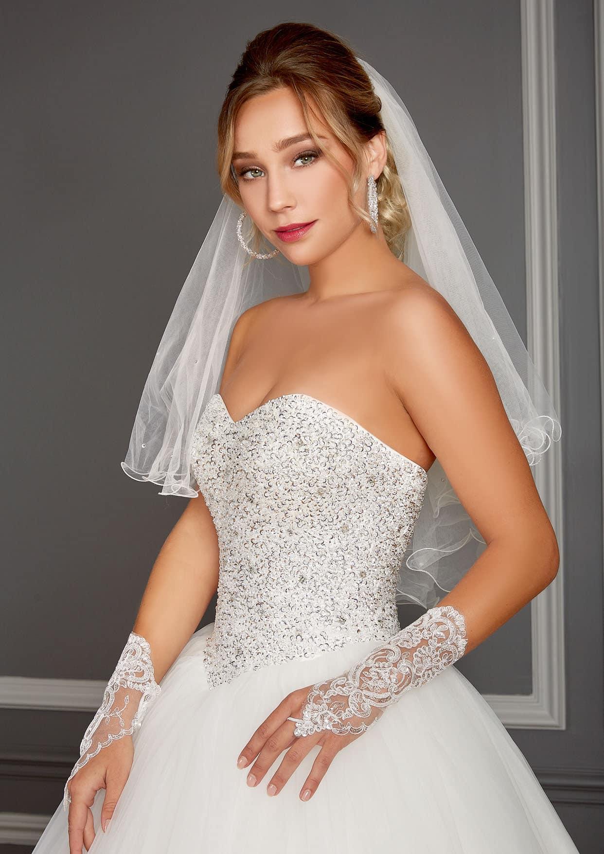 56d41157bbd Robe de mariée Love Wedding modèle Californie - Déclaration Mariage