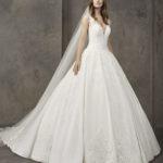 Robe de mariée Pronovias modèle Nieve