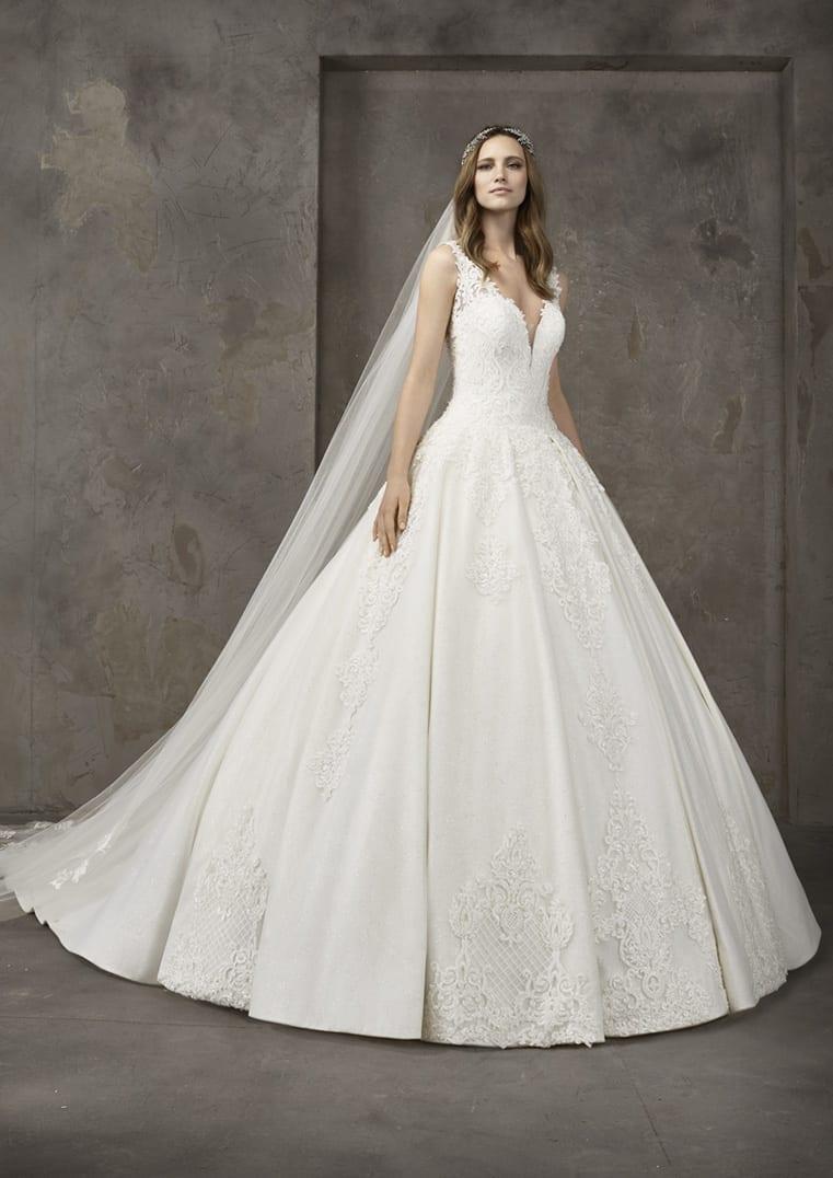 Robe de mariée Pronovias modèle Nieve - Dé