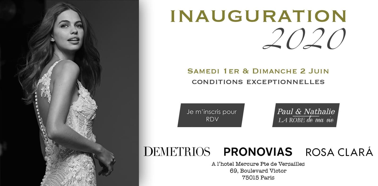 88b0eec72fe Déclaration Mariage Paris - Showroom Robes de mariée