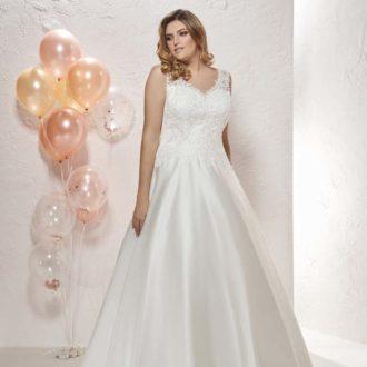 Robe de mariée Curvy modèle 20805