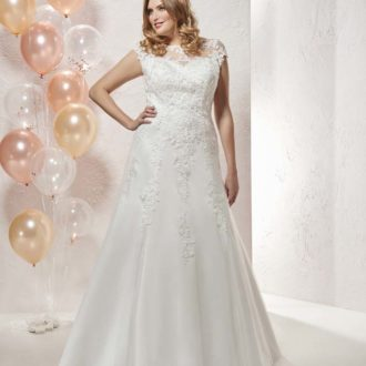 Robe de mariée Curvy modèle 20807