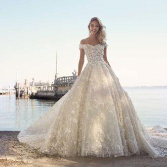 Robe de mariée Demetrios Platinum modèle DP412