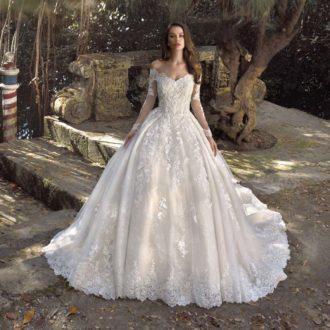Robe de mariée Demetrios Platinum modèle DP414