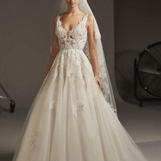 Robe de mariée Pronovias modèle ARIEL
