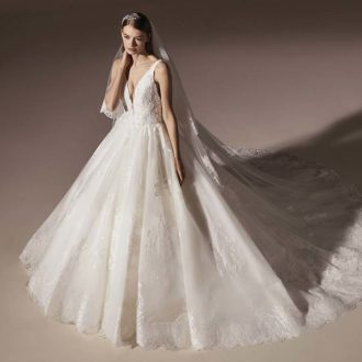Robe de mariée Pronovias modèle MARCELA